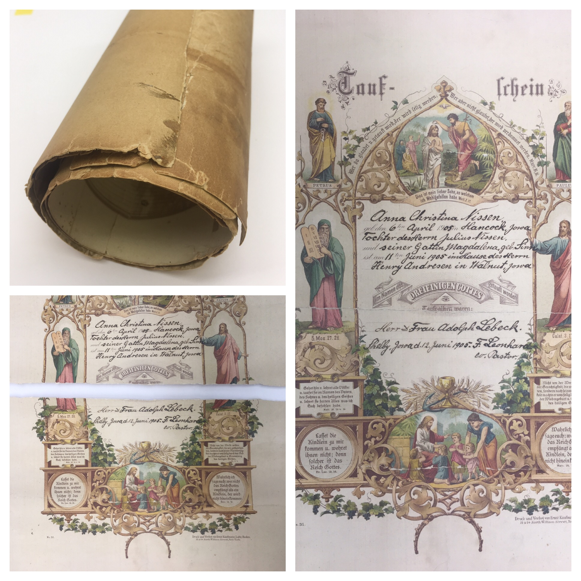 Paper Conservatiion and Restoration | Document Restoration