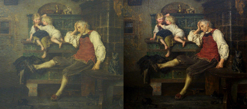 Painting Restoration Oil