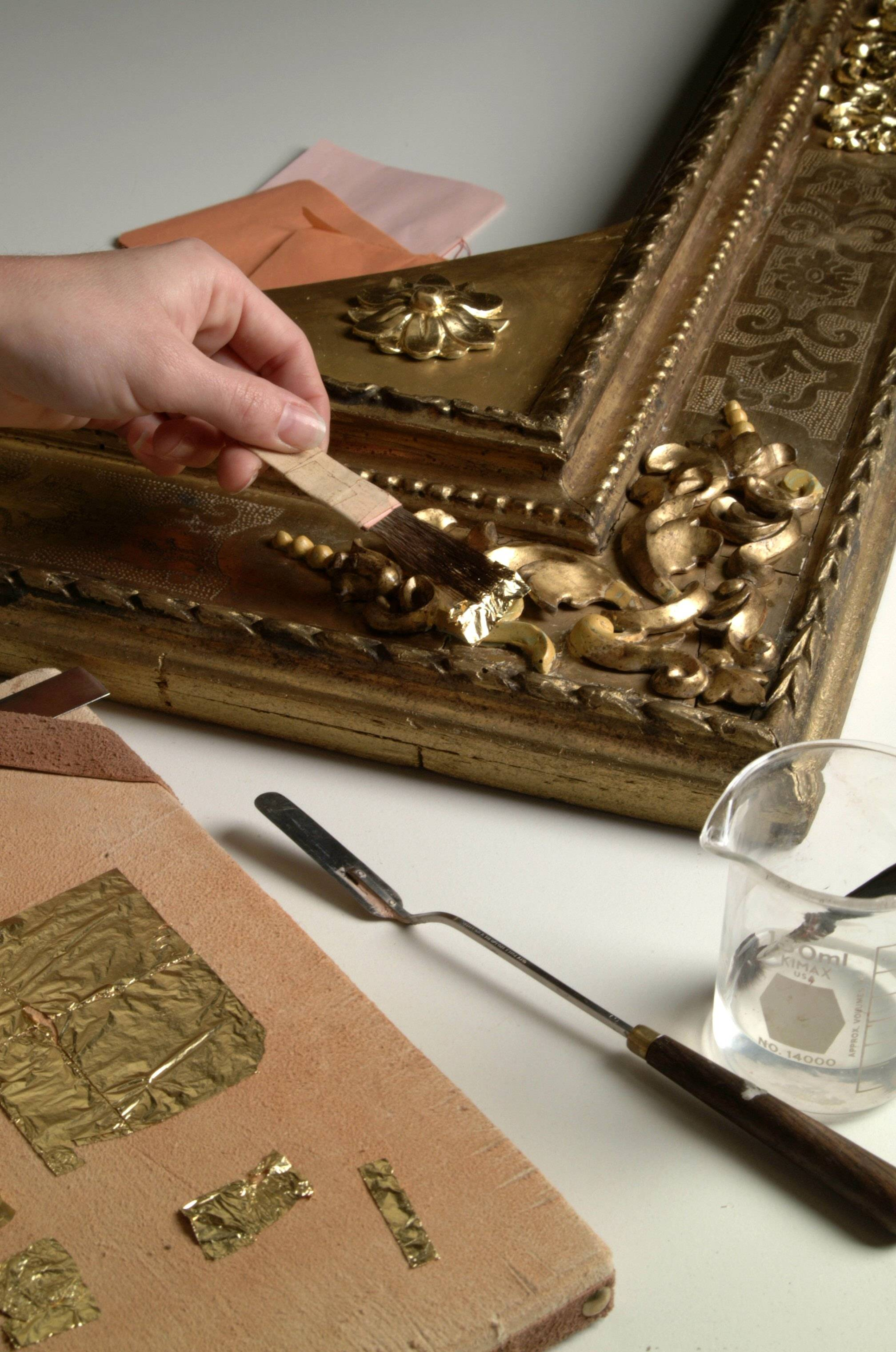 Picture Frame Restoration And Conservation Old World